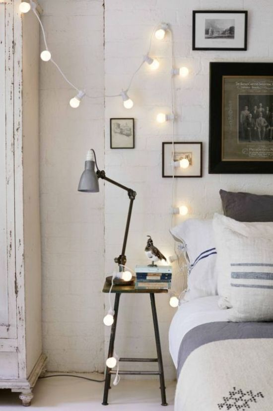 Affordable Rope Lights For Bedroom Ideas