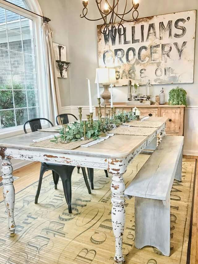Awesome French Country Dining Room Sets Ideas