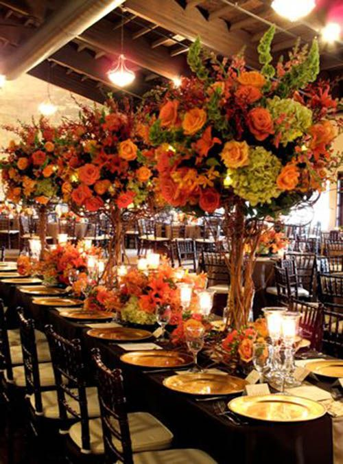 Fabulous Fall Wedding Decor Ideas
