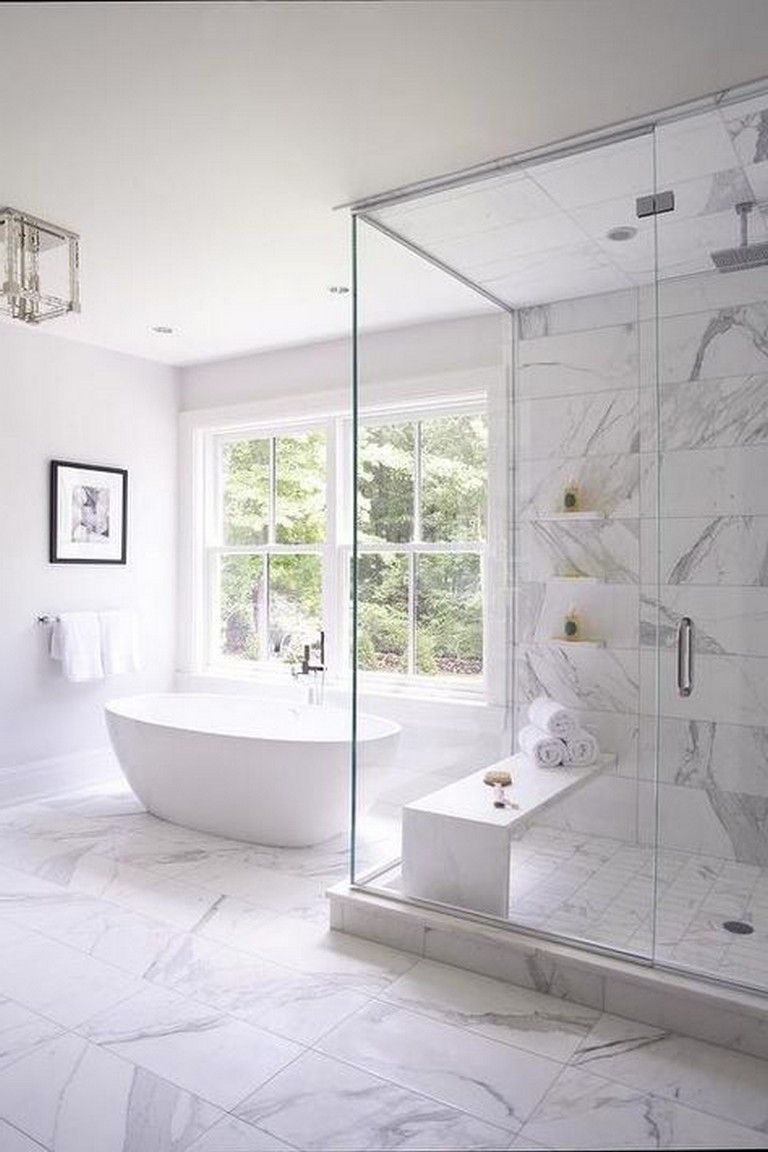 Stunning White Bathroom Decor Ideas