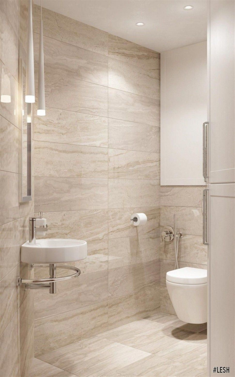 Popular Beige Bathroom Tiles Ideas