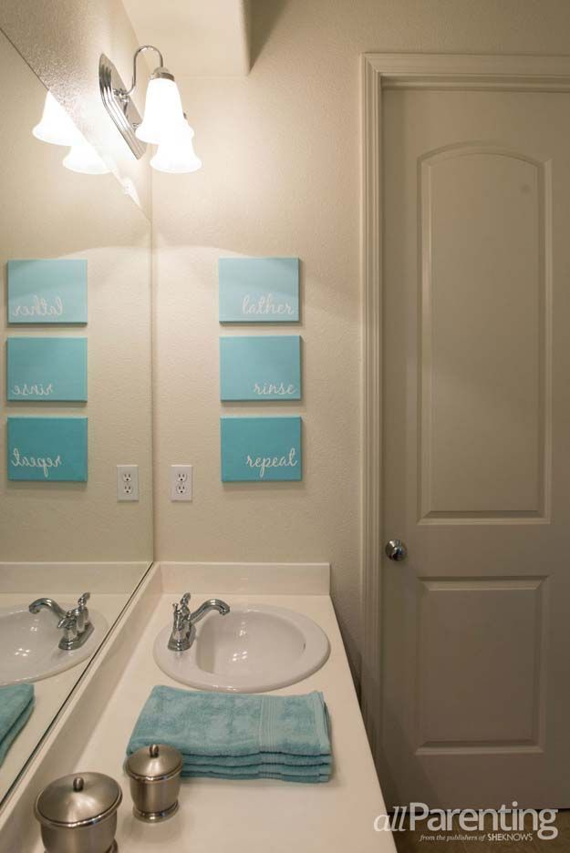 Popular Bathroom Canvas Art Ideas