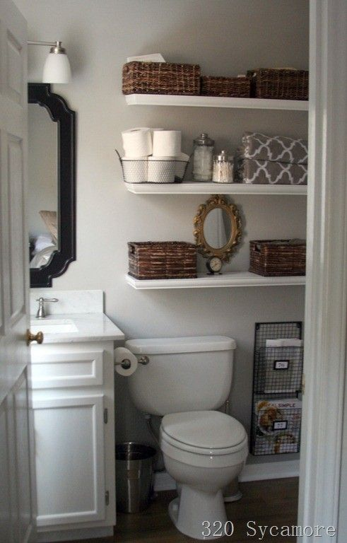 Popular Bathroom Floating Shelves Ideas