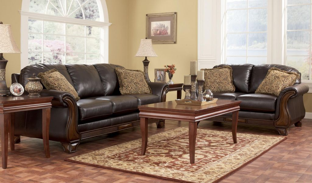 Fabulous Ashley Furniture Leather Couch Ideas