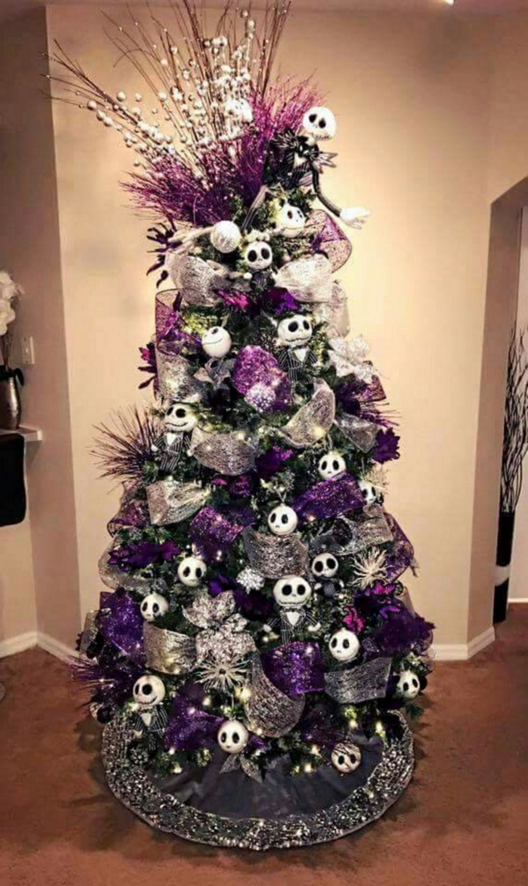 Gorgeous Nightmare Before Christmas Decorations Ideas