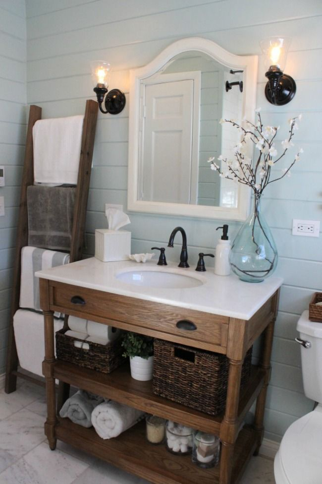 The Best Farmhouse Style Bathroom Vanity Ideas