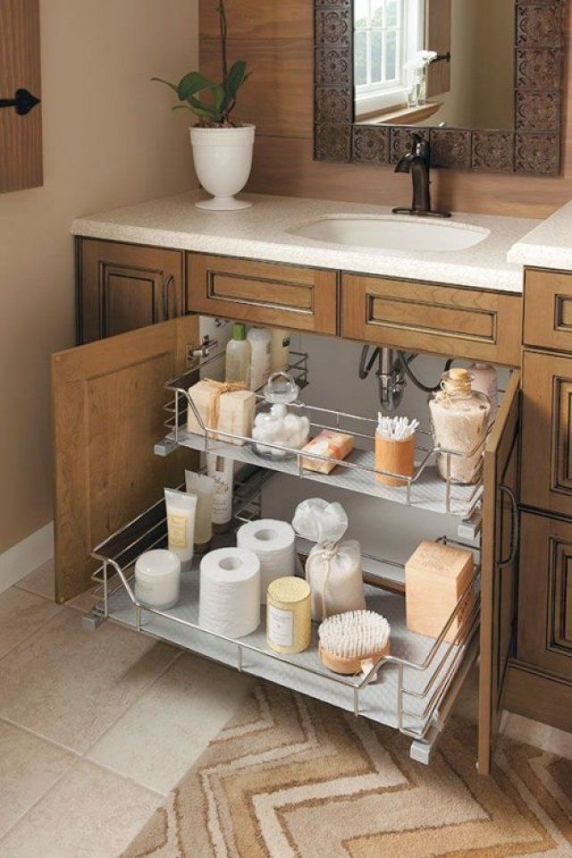 Gorgeous Bathroom Cabinet Shelf Ideas
