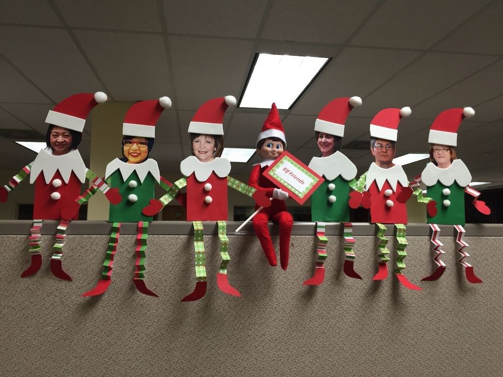 Affordable Office Christmas Decoration Ideas
