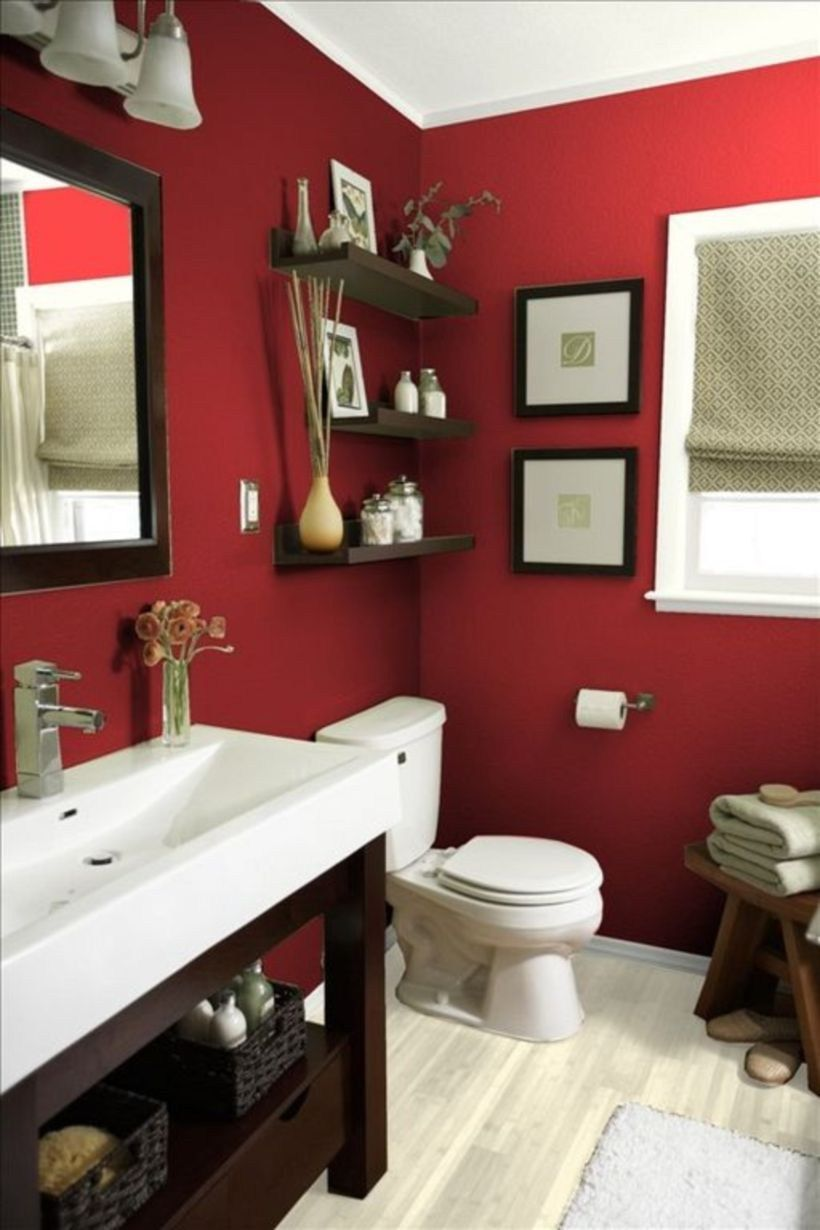The Best Red Bathroom Set Ideas