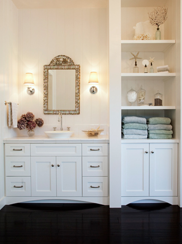 Popular White Bathroom Storage Cabinet Ideas