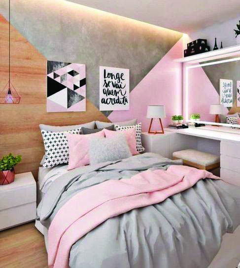 Awesome Pink Bedroom Walls Ideas