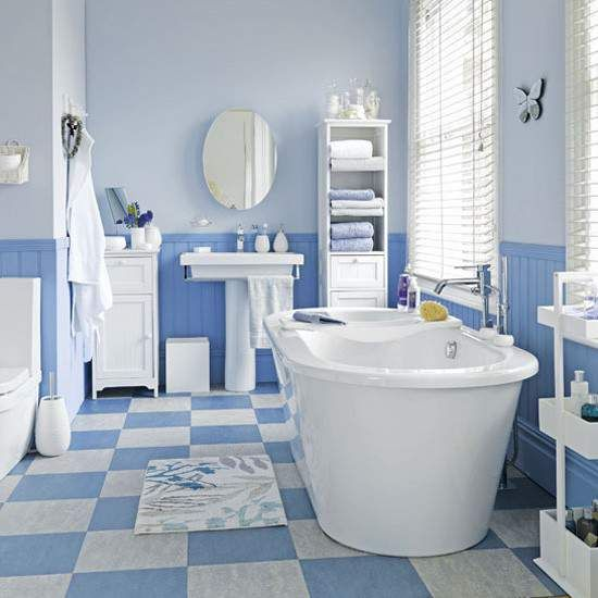 The Best Blue And White Bathroom Ideas