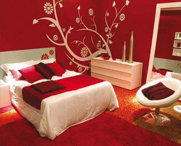 The Best Red Bedroom Walls Ideas