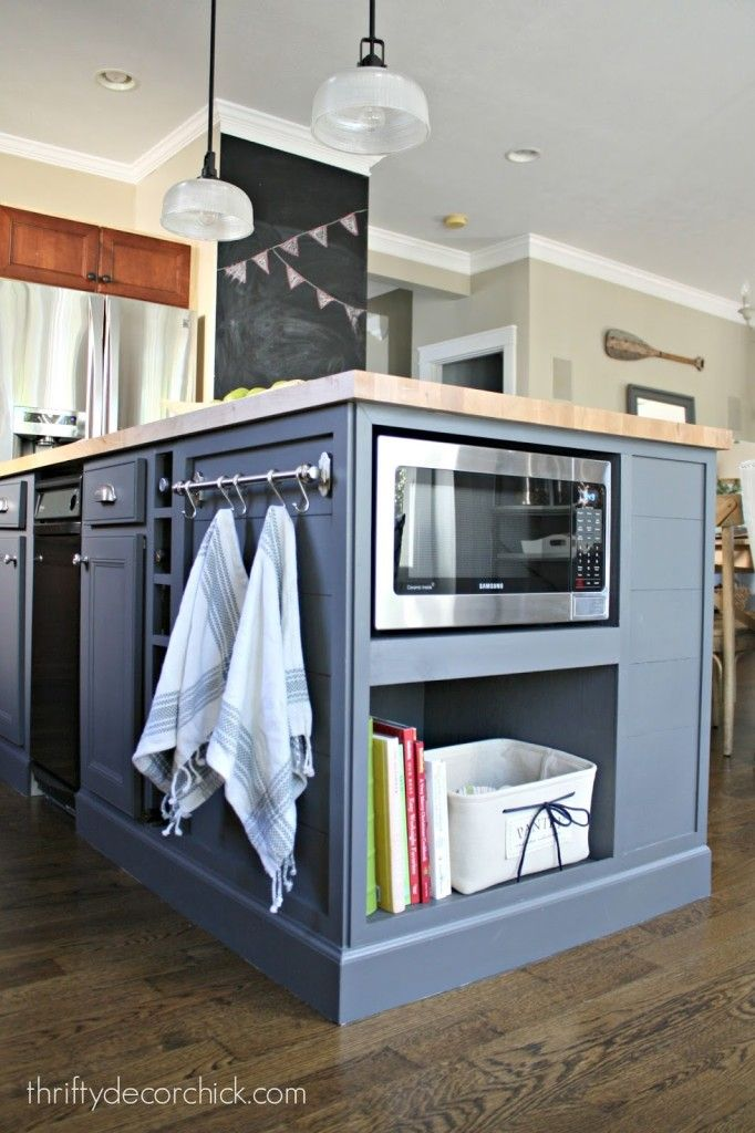 The Best Kitchen Island With Microwave Ideas