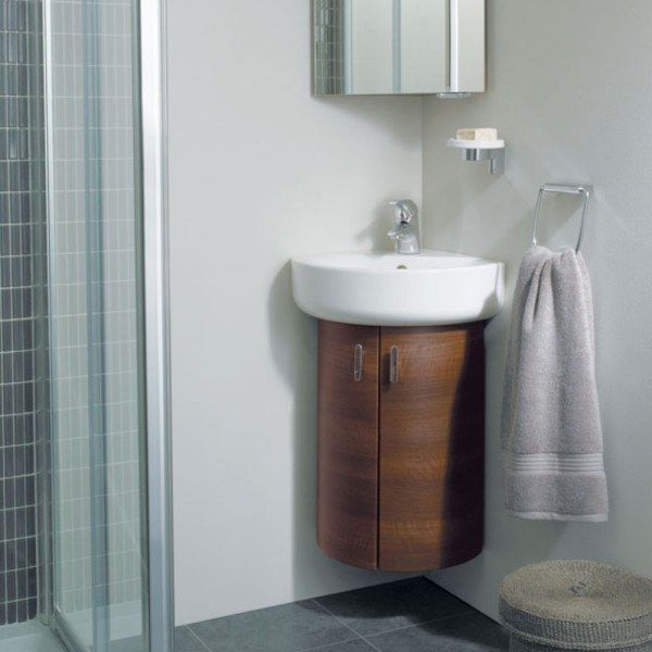 Beautiful Corner Bathroom Cabinet Ideas
