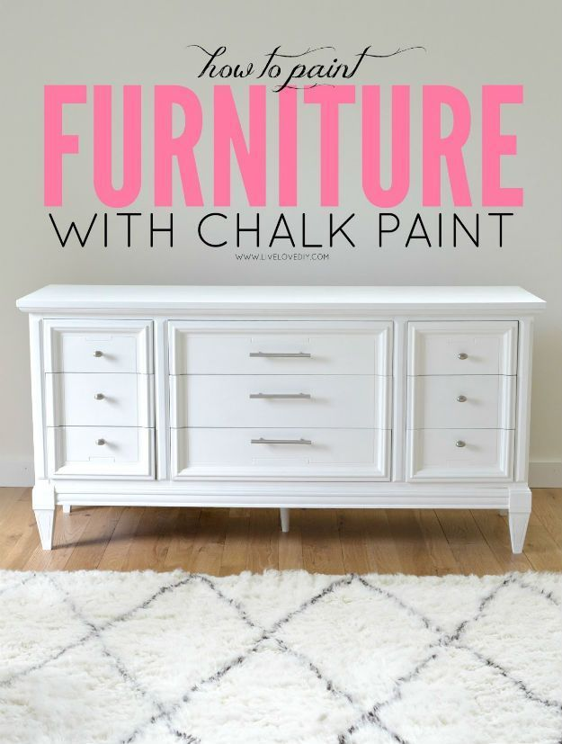 Awesome Chalk Paint Furniture Before And After Ideas
