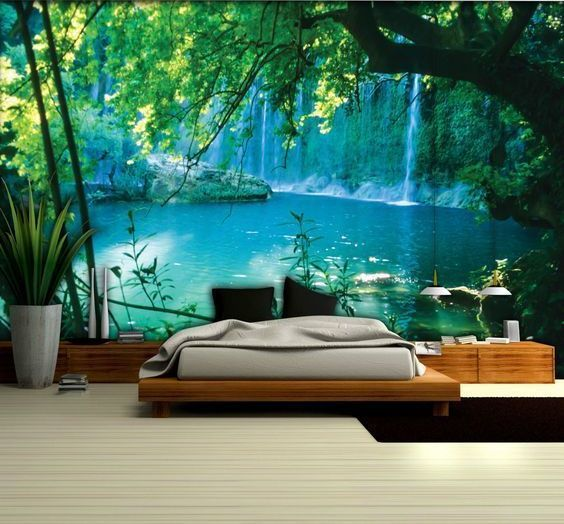 Gorgeous 3d Wallpaper For Bedroom Ideas