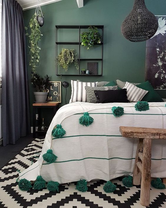 The Best Green And Grey Bedroom Ideas