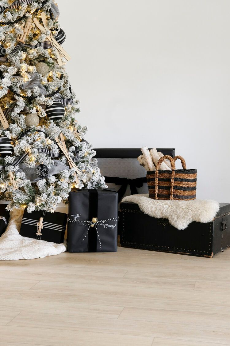 Affordable Black And White Christmas Tree Ideas