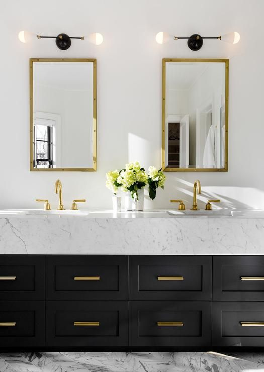Beautiful Black And Gold Bathroom Ideas