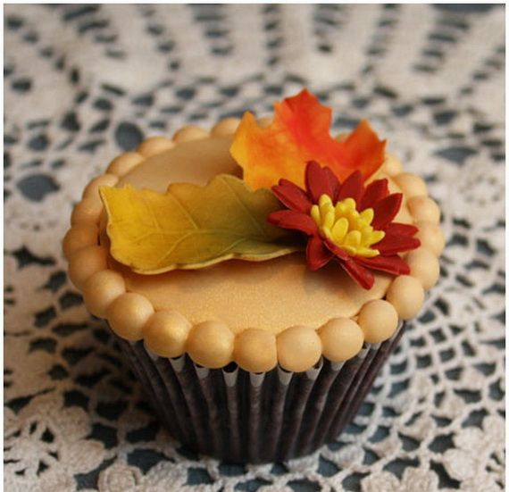 Fabulous Fall Cupcake Decorating Ideas