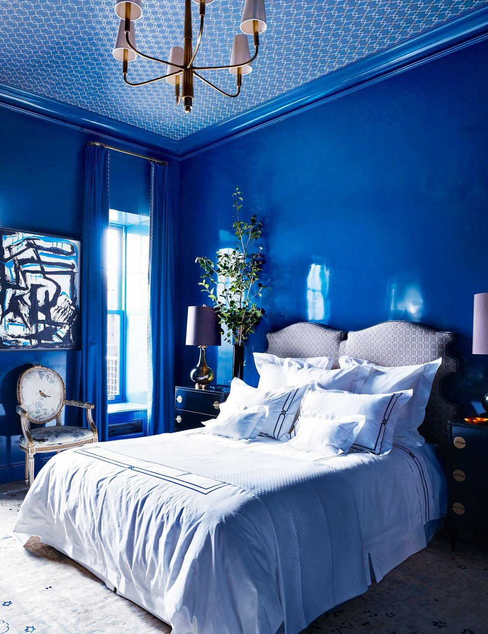 Lovely Blue Bedroom Colors Ideas