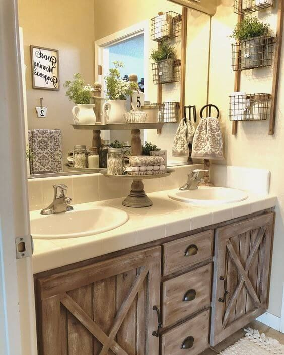 Beautiful Country Style Bathrooms Ideas