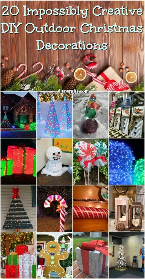 The Best DIY Outdoor Christmas Decorations Ideas