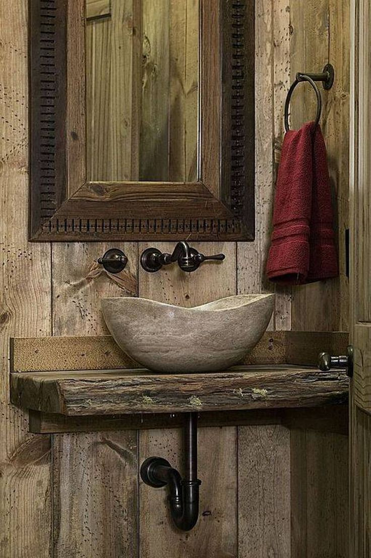 Wonderful Rustic Bathroom Sink Ideas