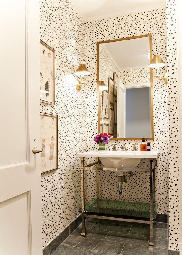 The Best Wallpaper For Small Bathrooms Ideas