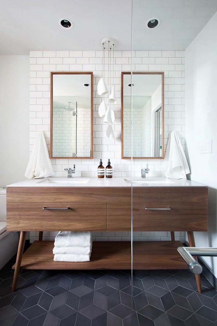 Gorgeous Mid Century Modern Bathroom Ideas