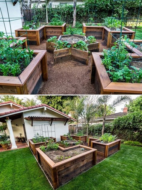 Awesome Raised Vegetable Garden Ideas