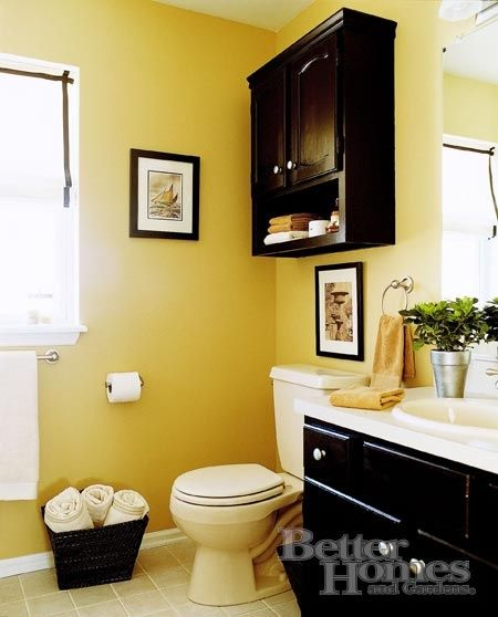 Awesome Yellow Bathroom Accessories Ideas
