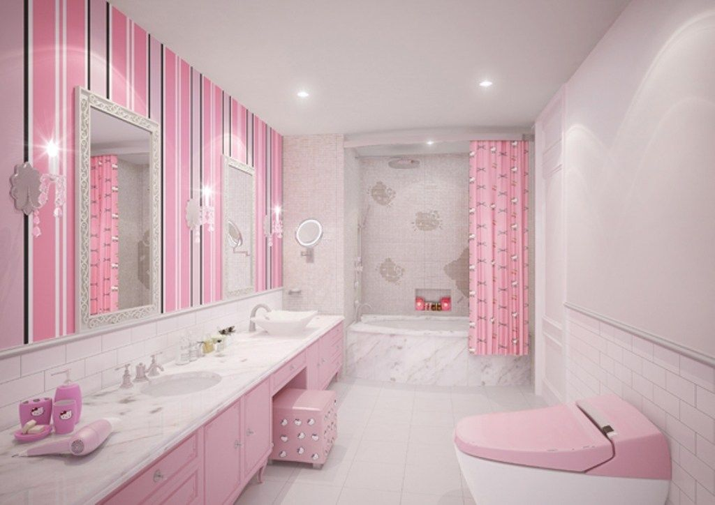 Amazing Girls Bathroom Ideas