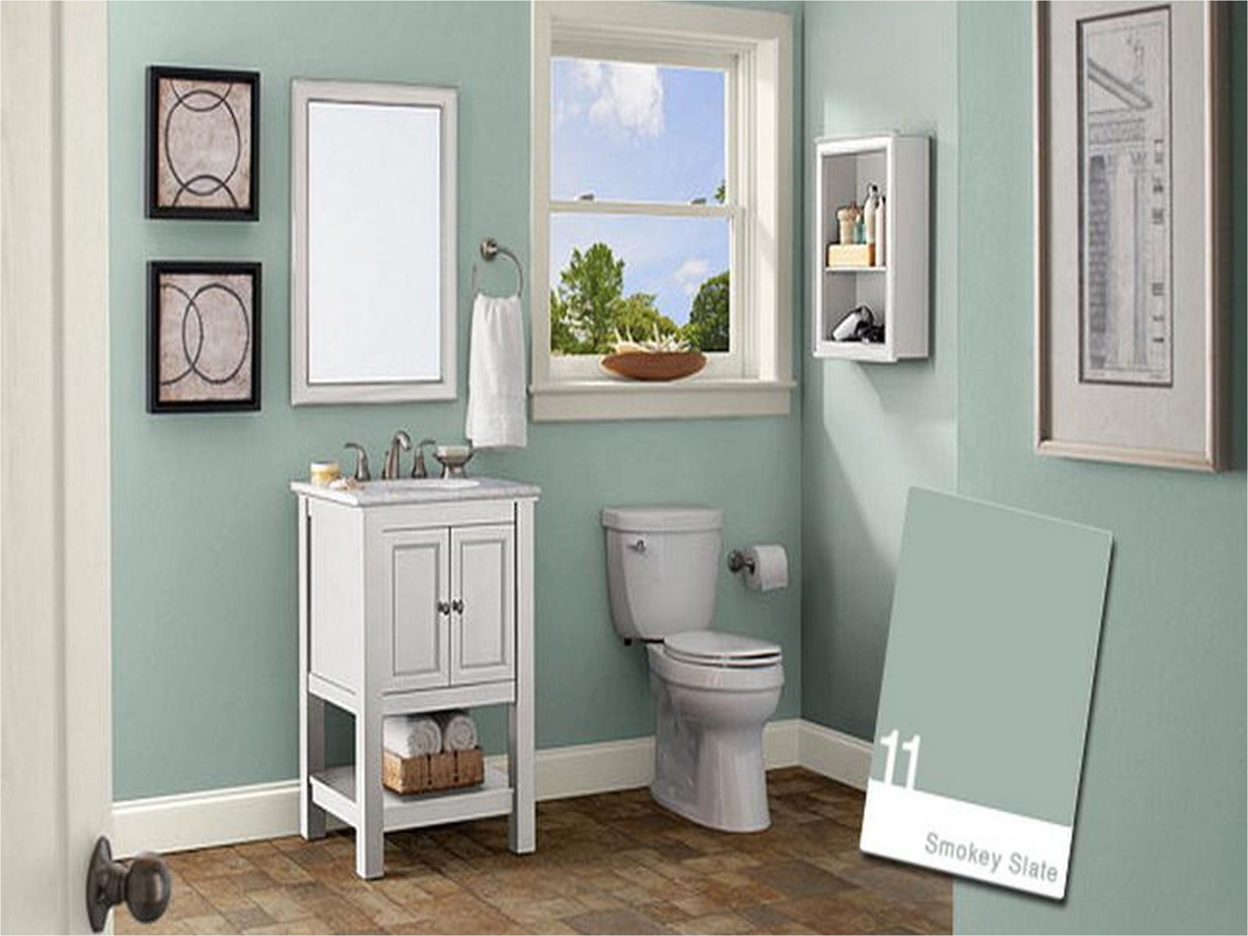 Wonderful Behr Bathroom Paint Ideas