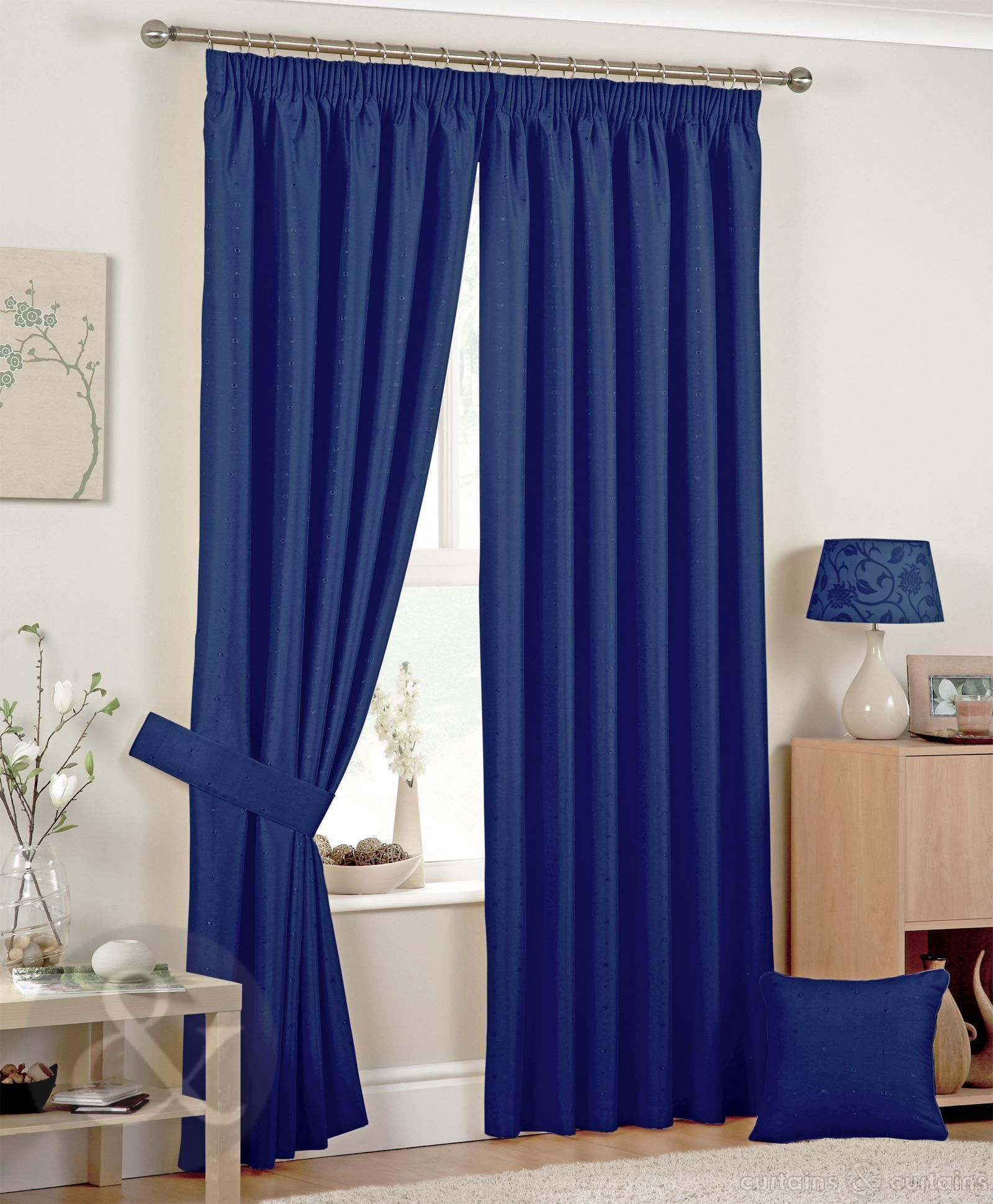 The Best Blue Bedroom Curtains Ideas