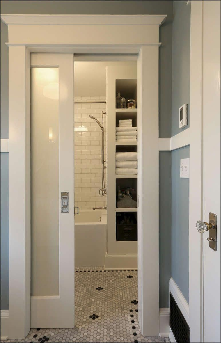 Wonderful Bathroom Pocket Doors Ideas