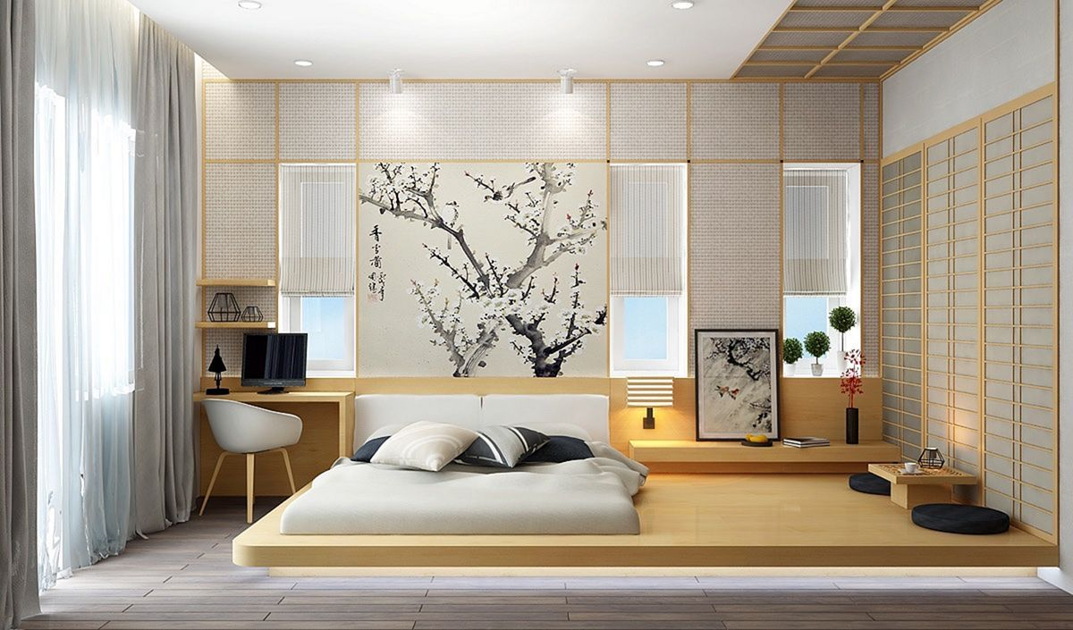 Affordable Japanese Style Bedroom Ideas