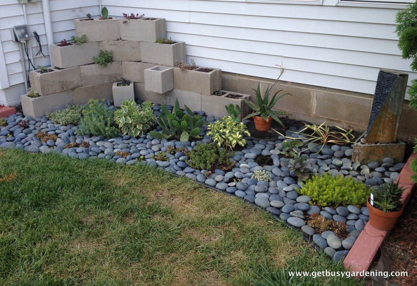 Fabulous Concrete Block Garden Ideas
