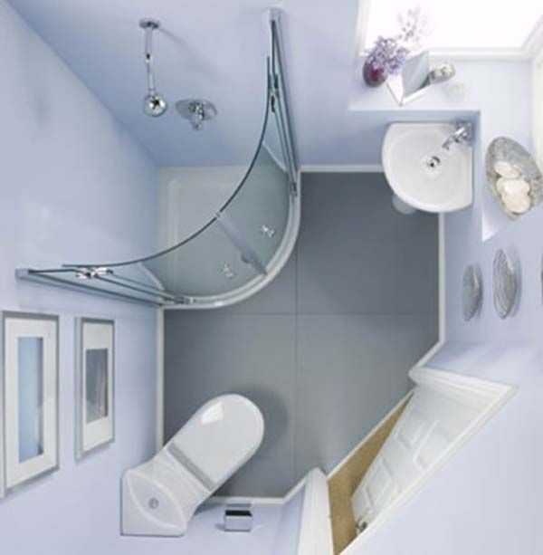 Popular Narrow Bathroom Ideas