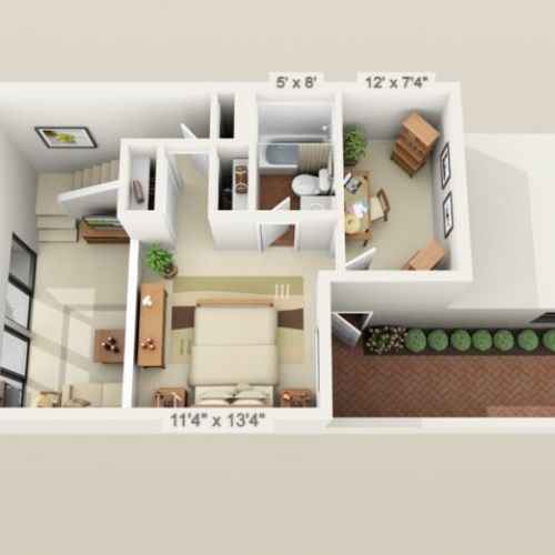 The Best 500 Sq Ft Apartment Ideas