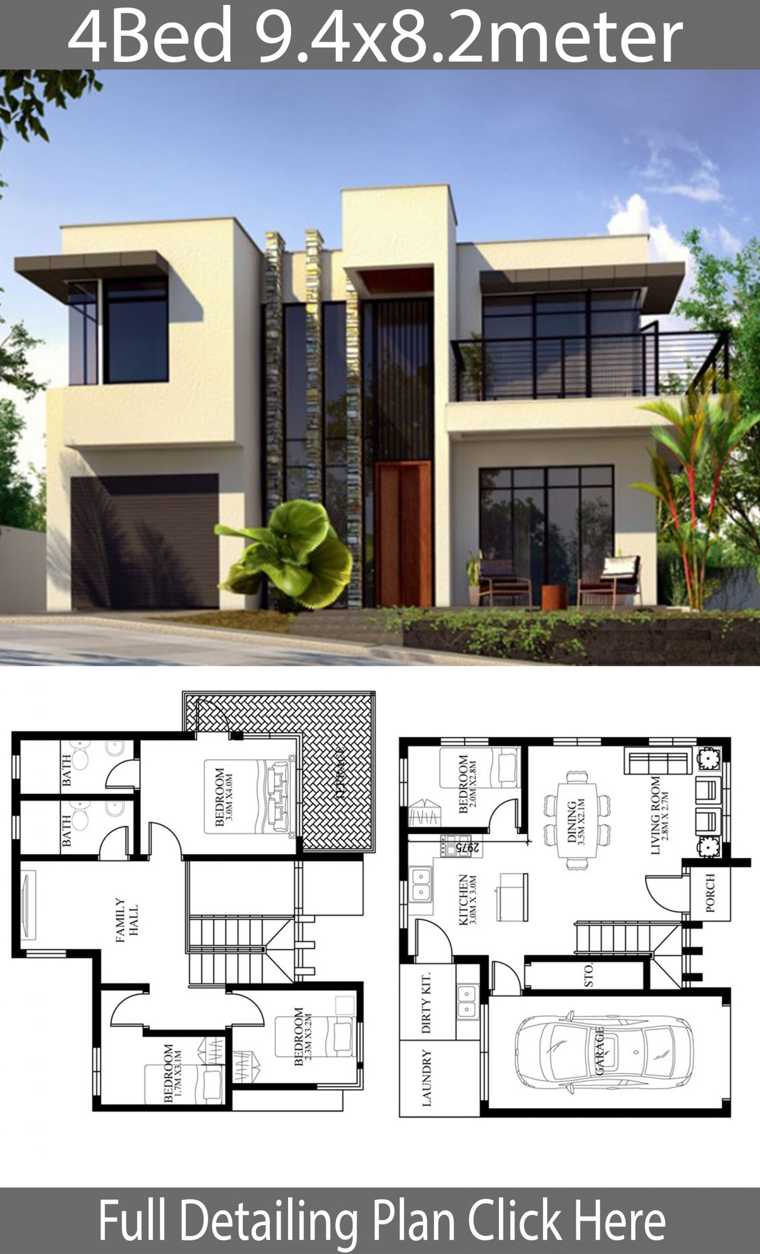 Awesome Modern Home Design Plans Ideas