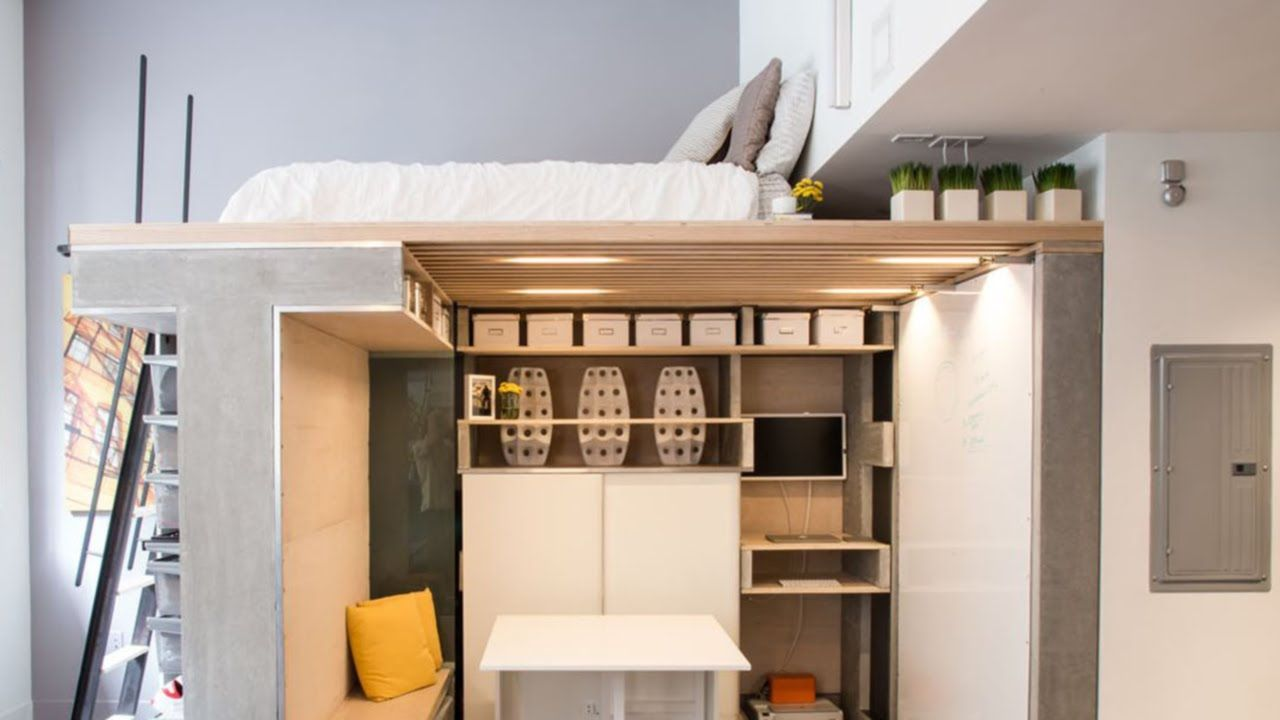 Awesome Beds For Studio Apartments Ideas