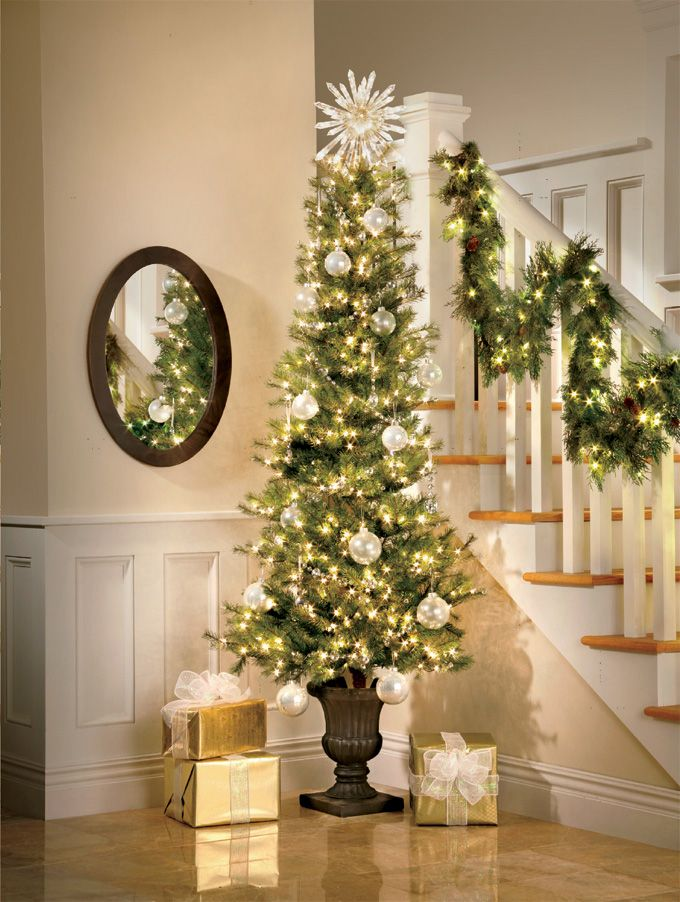 Affordable White Christmas Tree Lights Ideas