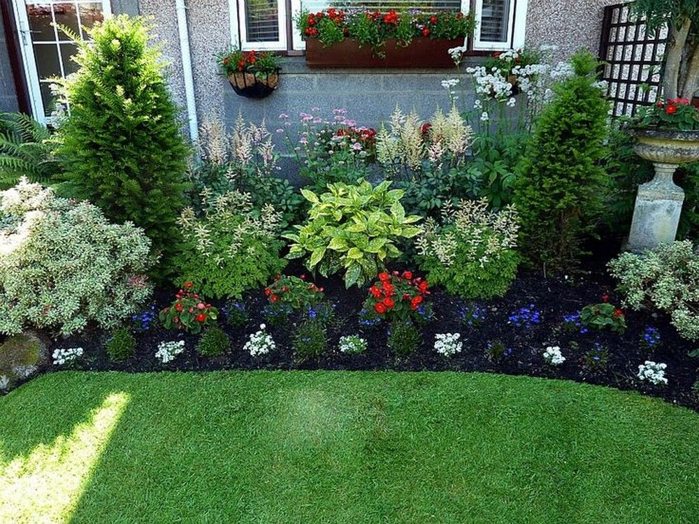 Popular Simple Front Garden Ideas