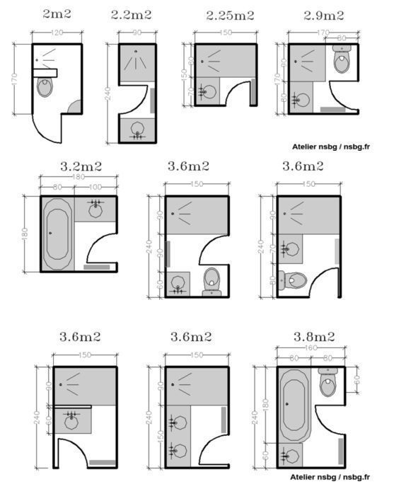 The Best Small Bathroom Dimensions Ideas