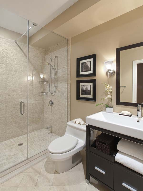 Inspiring Small Bathroom With Shower Layout Ideas
