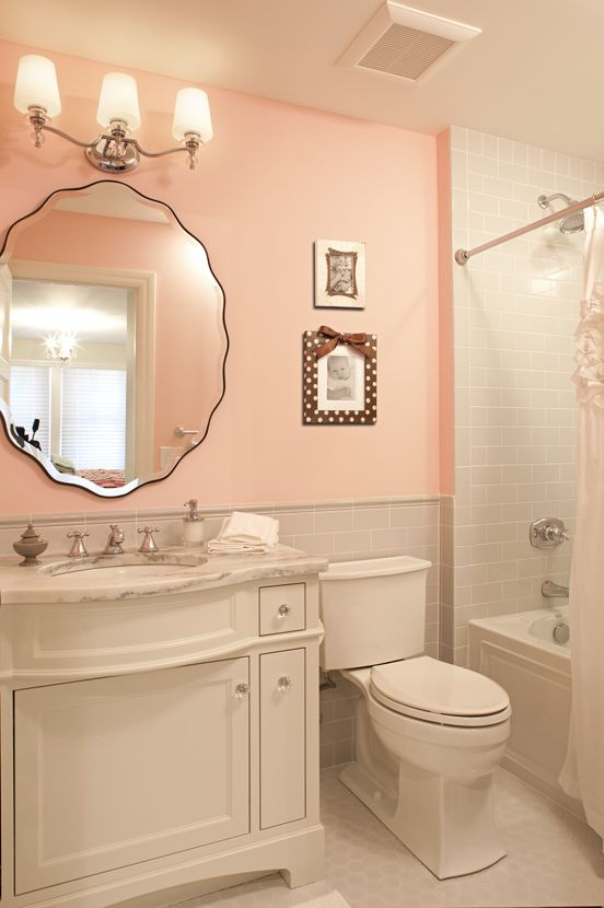 Beautiful Coral Bathroom Decor Ideas