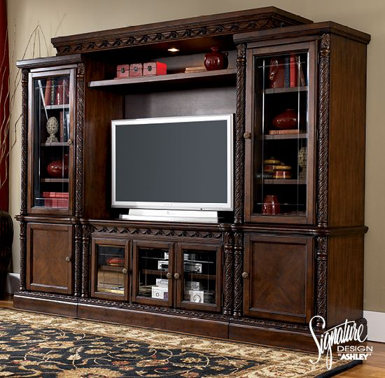 Inspiring Ashley Furniture Entertainment Center Ideas