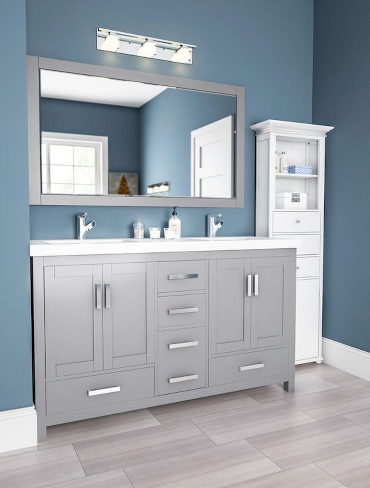 Amazing Bathroom Vanity Colors Ideas